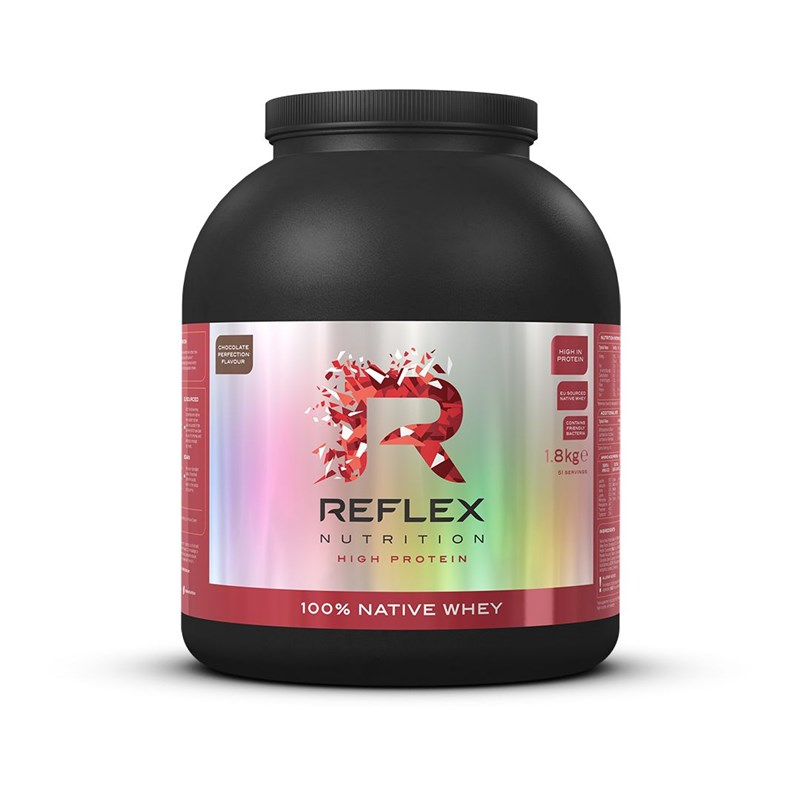 100% Native Whey 1800g Reflex Nutrition