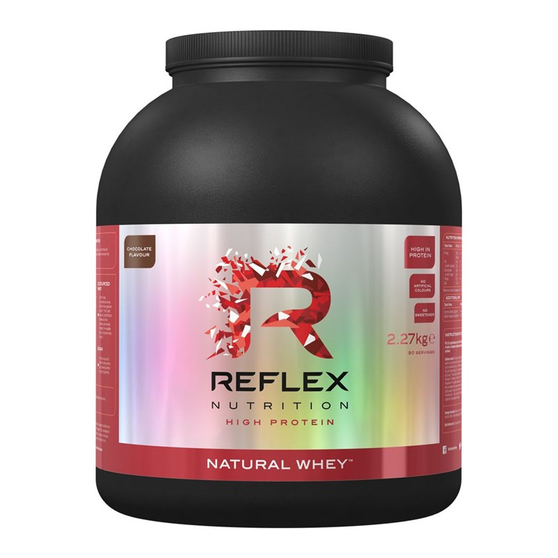 Natural Whey 2,27kg Reflex Nutrition