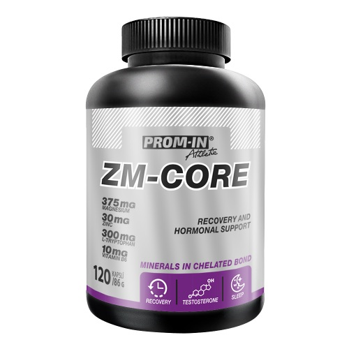 ZM CORE(Zn+Mg+B6+Triptofán) 120kps. PROM-IN